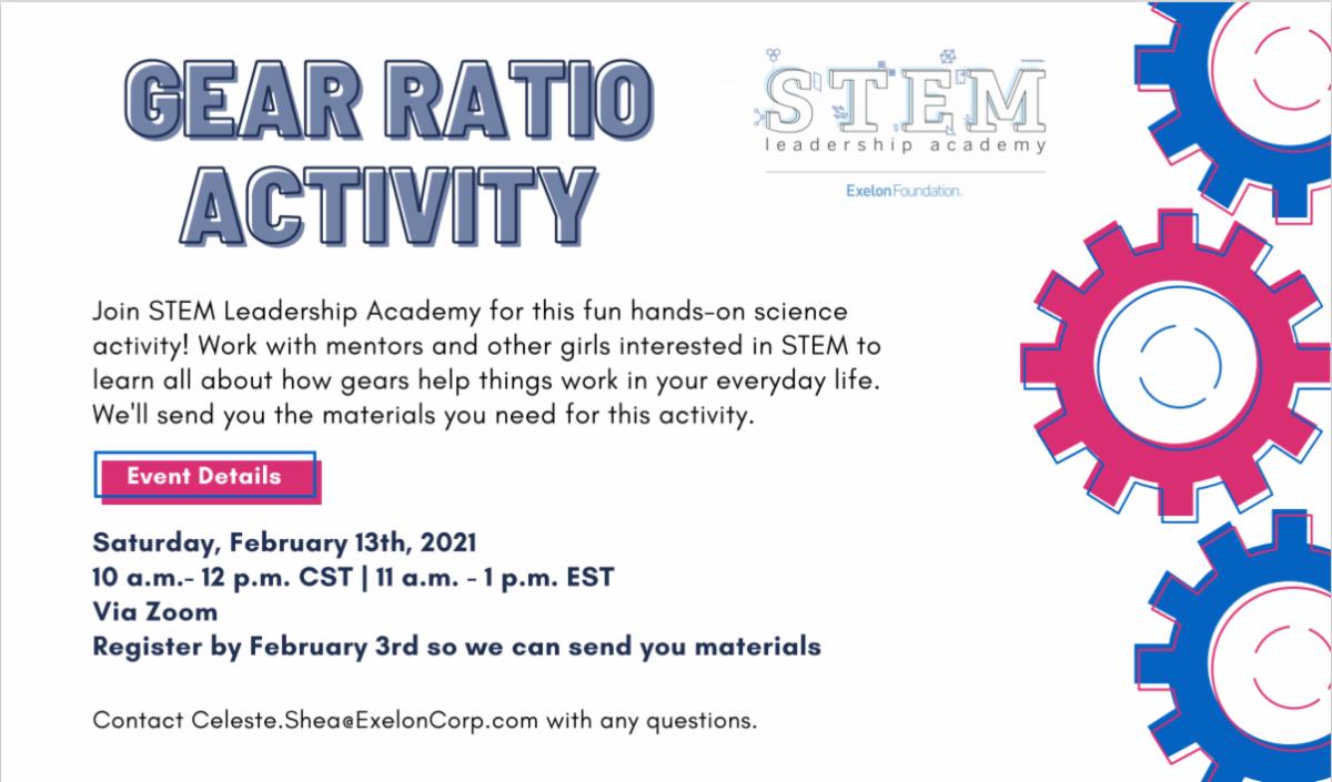 STEM Academy Virtual Gear Ratio Activity