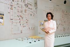 Historic photo of female NASA engineer